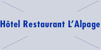 Hotel Restaurant L Alpage